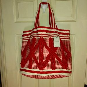 LUCKY BRAND Textured Boho Tote